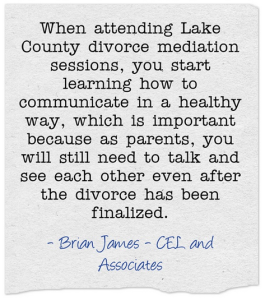 lake county divorce mediation