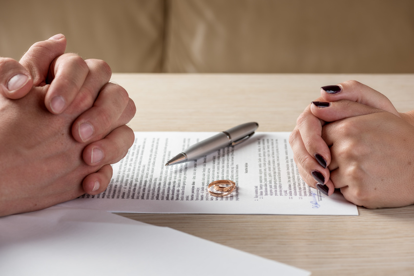 divorcing your spouse