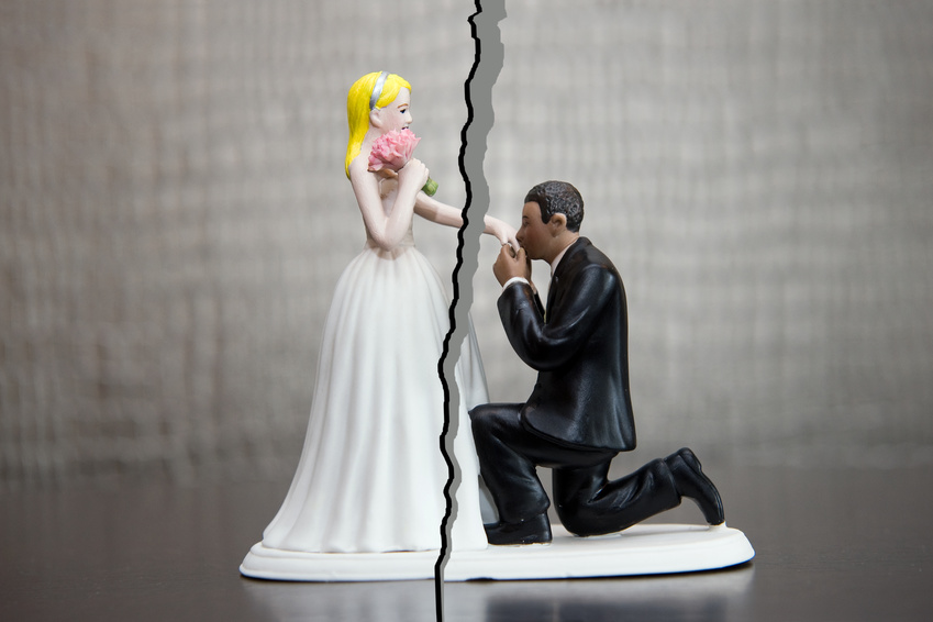 Divorce of couple